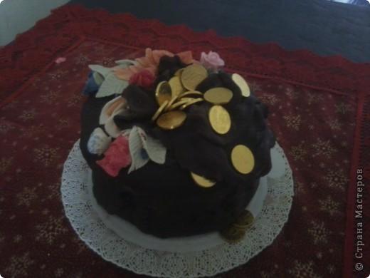 Мой новый торт подруге на день рождение фото 2
