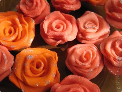 сделались под настроение вот такие розовые букетики в корзинках фото 5