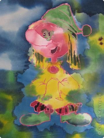 Картина панно рисунок Батик Сказочные ...: stranamasterov.ru/node/199064