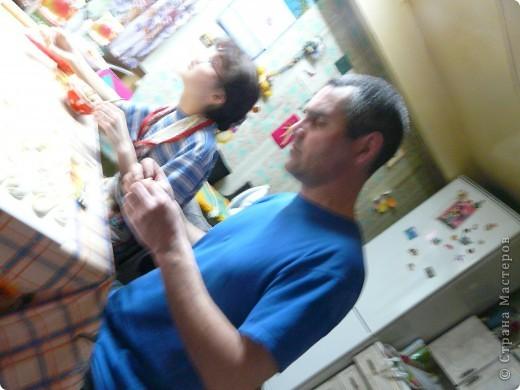 Как мы семьёй празднуем 9 мая или лепка пельменей. фото 5