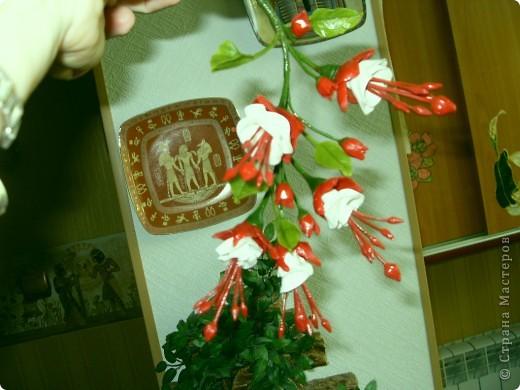 Здравствуйте дорогие рукодельницы. Сделала на ваш суд несколько веточек цветов которые просто понравились. Правда фотографии немножко неудачные получились. фото 6