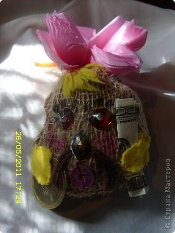 Сегодня мы получили посылочку от Танюши(Кубика) http://stranamasterov.ru/user/26607 вот такая ракушка,она такая красивая-даже жалко положить её в аквариум фото 3