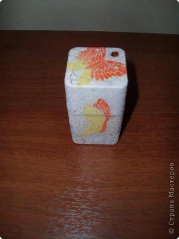 Шкатулка из конфетной коробки.   фото 6