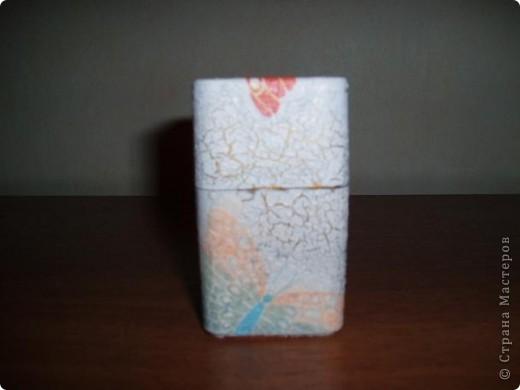 Шкатулка из конфетной коробки.   фото 7
