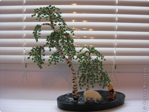 Поделка изделие Бисероплетение мои деревья из бисера Бисер фото 1.