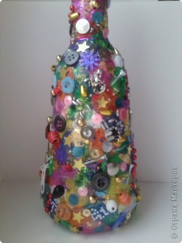 Пластилиновая бутылочка фото 2