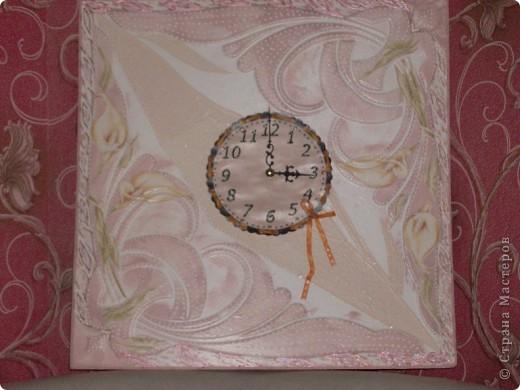 Часы для мамы, в кухонный интерьер. фото 1