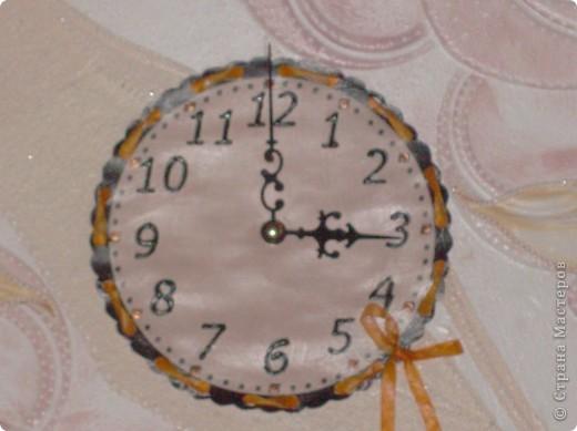 Часы для мамы, в кухонный интерьер. фото 4
