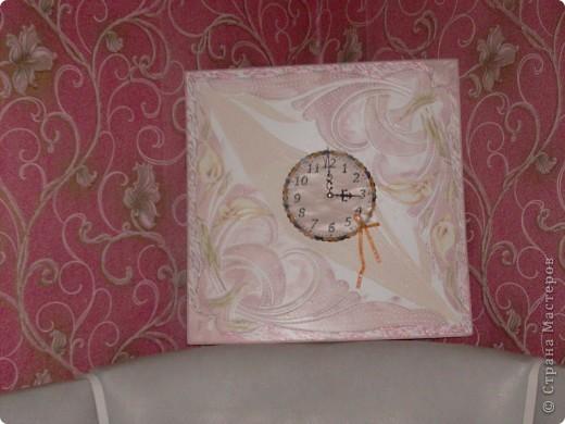 Часы для мамы, в кухонный интерьер. фото 5