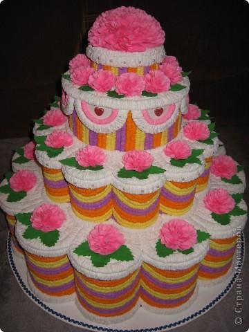 Торт на выпускной фото 1