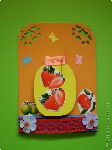 Вот такие баночки с фруктами, очень вкусно зимой. фото 3