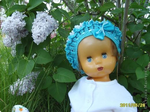 А вот и мой беретик,вязала на одном дыхании,на день рождения нашей самой маленькой племяшке,вязала по стандартным размерам которые нашла в интернете,та к как ребенок очень далеко в Актюбинске живет,надеюсь ей будет как раз. фото 4
