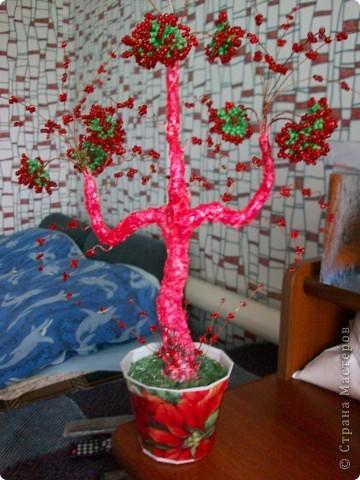 """""""взрыв эмоций"""")) Хотя пыталась сделать дерево связанное с огнем,а получилось какое-то извержение))) фото 1"""