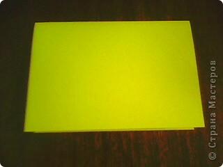 Желтая открытка с бантиком! фото 2