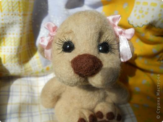 Здравствуйте! Я очень юблю валяшки Татьяны Бараковой, поэтому время от времени пытаюсь копировать ее игрушки. Надеюсь, когда нибудь у меня получится. фото 2