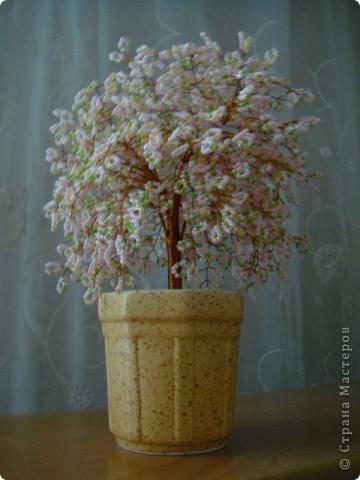 Поделка изделие Бисероплетение Деревья из бисера Бисер фото 1.
