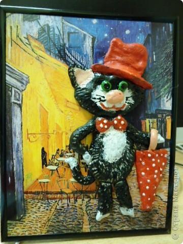 Никак не отойти от кошачьей темы! Это кот-обжора. фото 4