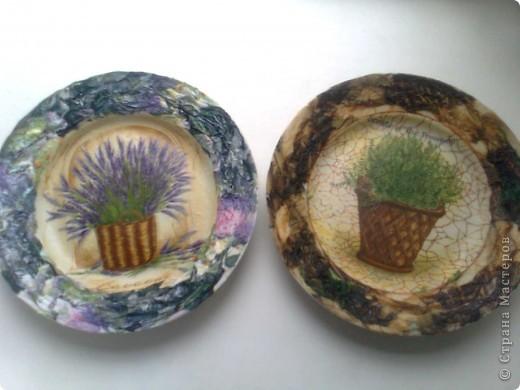 Декоративные тарелки фото 1