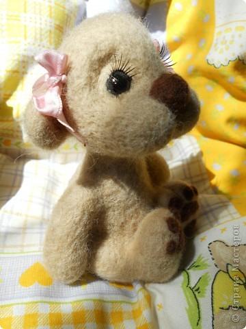 Здравствуйте! Я очень юблю валяшки Татьяны Бараковой, поэтому время от времени пытаюсь копировать ее игрушки. Надеюсь, когда нибудь у меня получится. фото 5