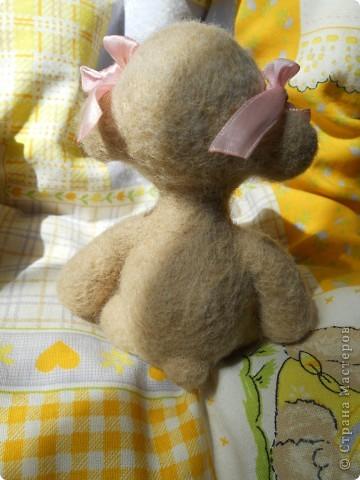 Здравствуйте! Я очень юблю валяшки Татьяны Бараковой, поэтому время от времени пытаюсь копировать ее игрушки. Надеюсь, когда нибудь у меня получится. фото 4