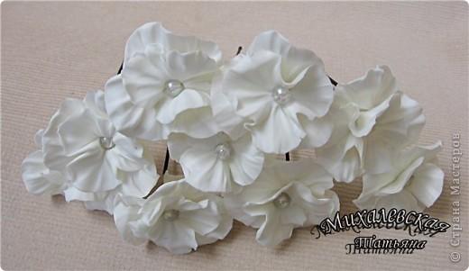 Сделала под заказ вот такие шпильки для невесты  ))) фото 7