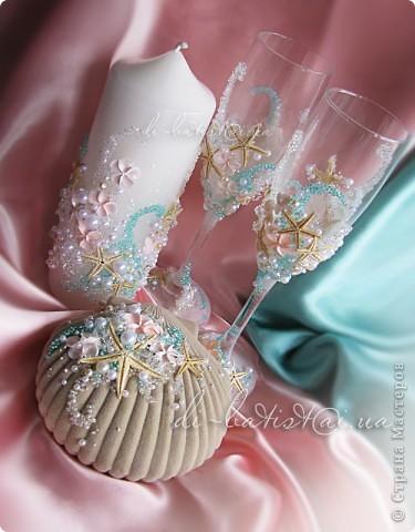 """Набор """"Мальдивы"""" для свадьбы в морском стиле фото 1"""