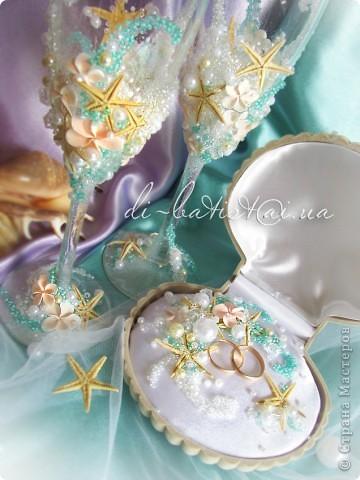 """Набор """"Мальдивы"""" для свадьбы в морском стиле фото 2"""