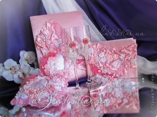"""Свадебный комплект """"Аромат роз"""" фото 1"""