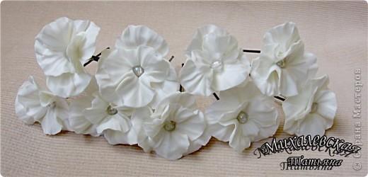 Сделала под заказ вот такие шпильки для невесты  ))) фото 5
