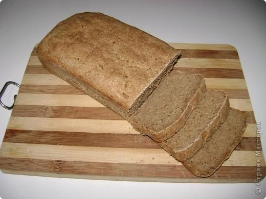 """Вот такой хлебушек я пеку для своей семьи постоянно. Мы живем там, где ржаного хлеба не бывает. А так хочется иногда настоящей """"чернушечки"""".  фото 1"""