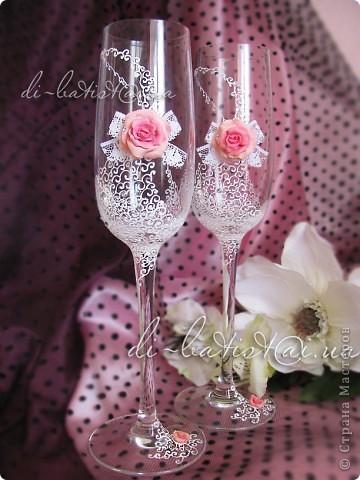 """Свадебный комплект """"Аромат роз"""" фото 3"""