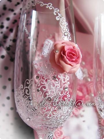 """Свадебный комплект """"Аромат роз"""" фото 4"""