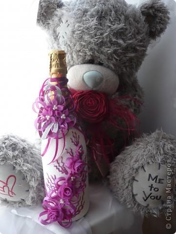 Лиловые цветы в подарок... фото 2