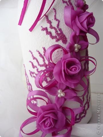 Лиловые цветы в подарок... фото 3