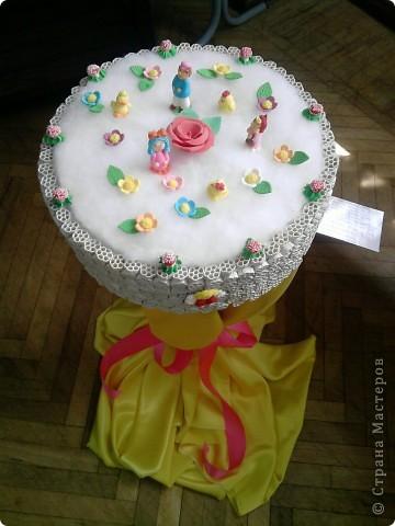 Весенний тортик.