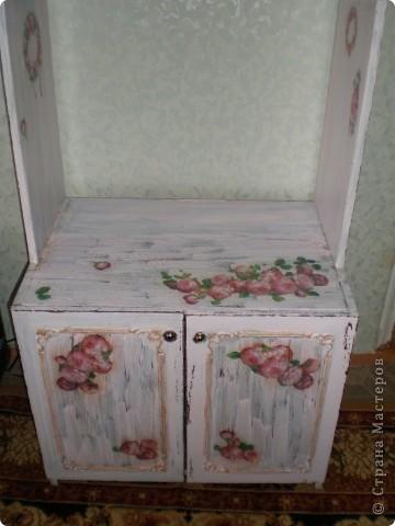 Жил-был старый-старый шкафчик советских времен, жил не тужил и тут добрались до него мои загребущие ручки! фото 2