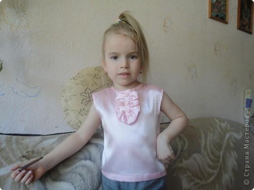 атласная блуза для дочери фото 3