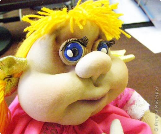 Моя первая кукла-попик) фото 2