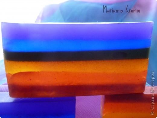 Использовала пигменты чтоб избежать миграции цветов. фото 1