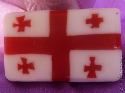 Грузинский флаг  фото 2