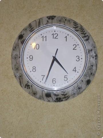 Декупаж часов. фото 1