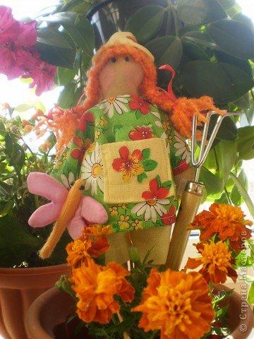 Кончился у меня творческий кризис и появились садовые человечки. фото 3