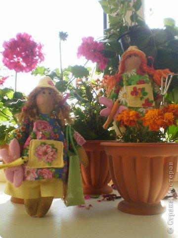 Кончился у меня творческий кризис и появились садовые человечки. фото 1