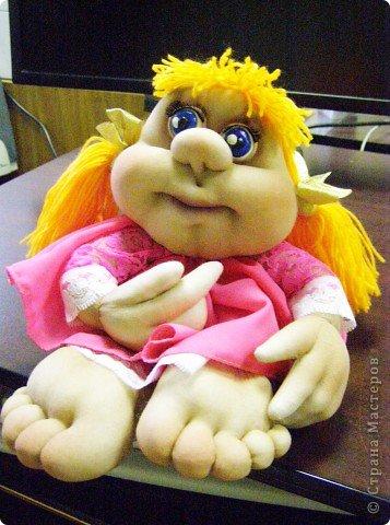 Моя первая кукла-попик) фото 1