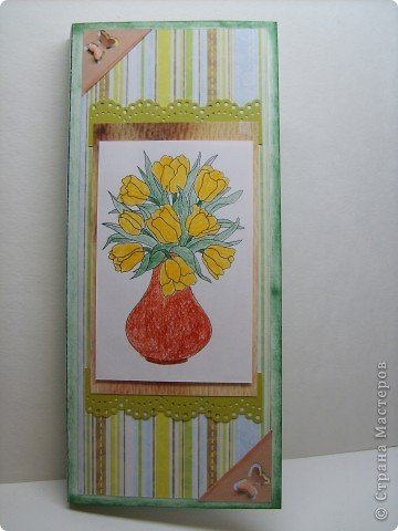 Еще две открытки для шоколадок. фото 2