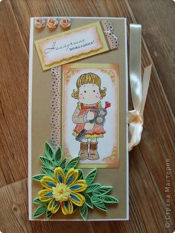 Еще две открытки для шоколадок. фото 1