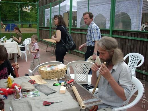 """с опозданием картинки с handmade фестиваля """"Другие вещи"""" в Москве 22 мая - на мастер-классах фото 2"""