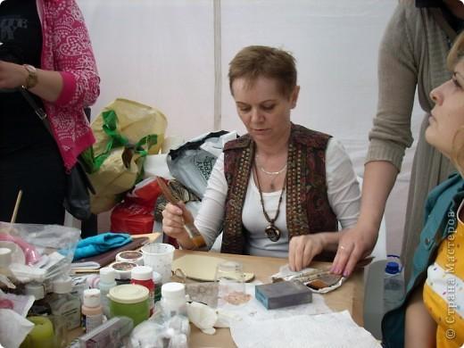 """с опозданием картинки с handmade фестиваля """"Другие вещи"""" в Москве 22 мая - на мастер-классах фото 7"""