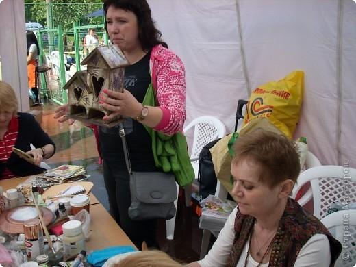 """с опозданием картинки с handmade фестиваля """"Другие вещи"""" в Москве 22 мая - на мастер-классах фото 10"""