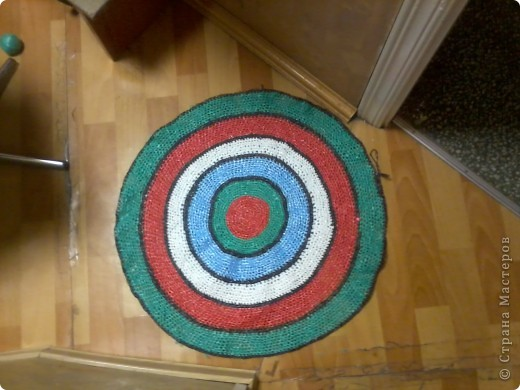 вот такие у меня получились коврички,постелим в баньку. фото 1